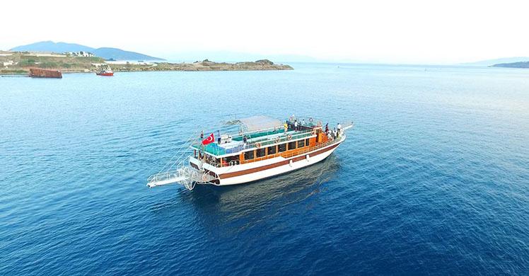 Tour en barco Bodrum