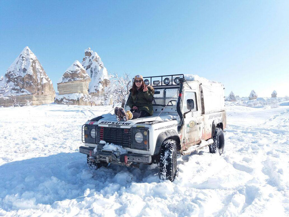 Safari en jeep en capadocia