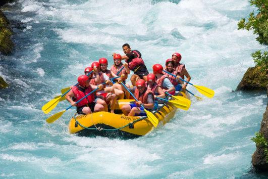 Rafting - Rio descanso en Bodrum