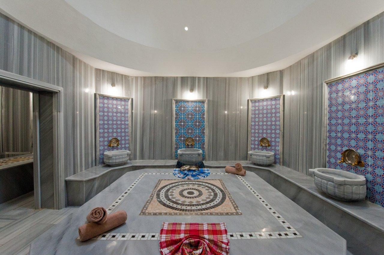 El baño turco en Capadocia