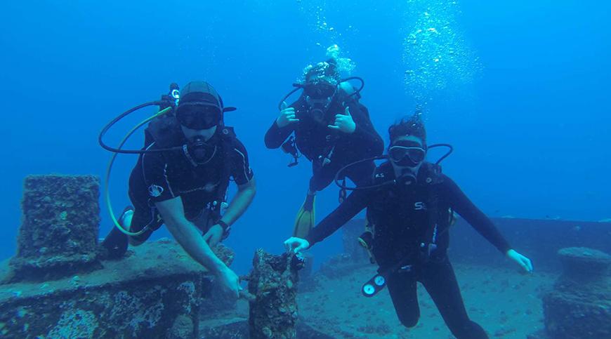 Bucear o submarinismo en Bodrum