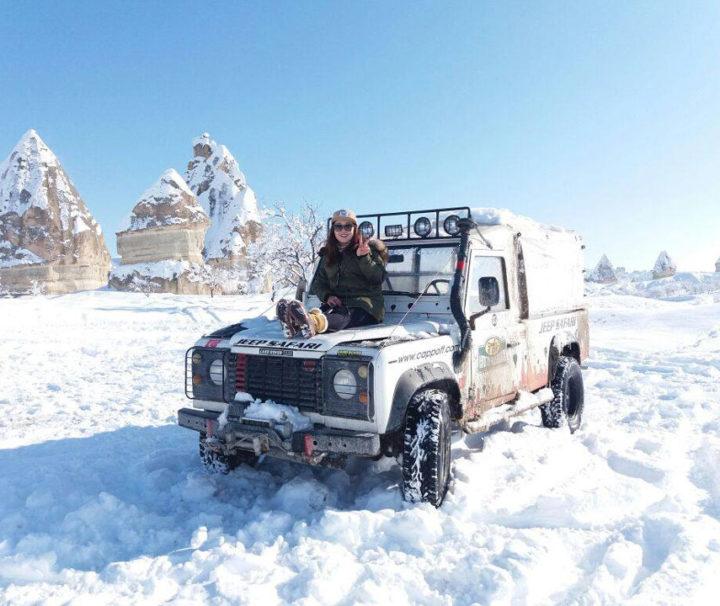 Safari en jeep en capadocia