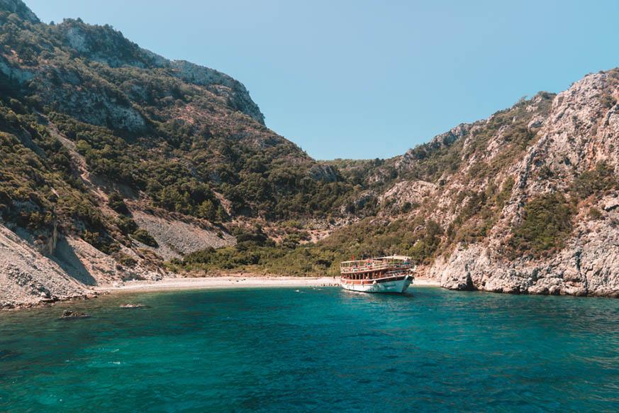 Playas de Kusadasi, Turquia
