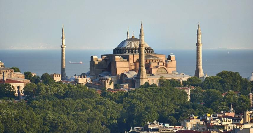 La iglesia de santa sofia estambul Turquia