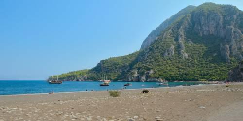 la playa de olympos