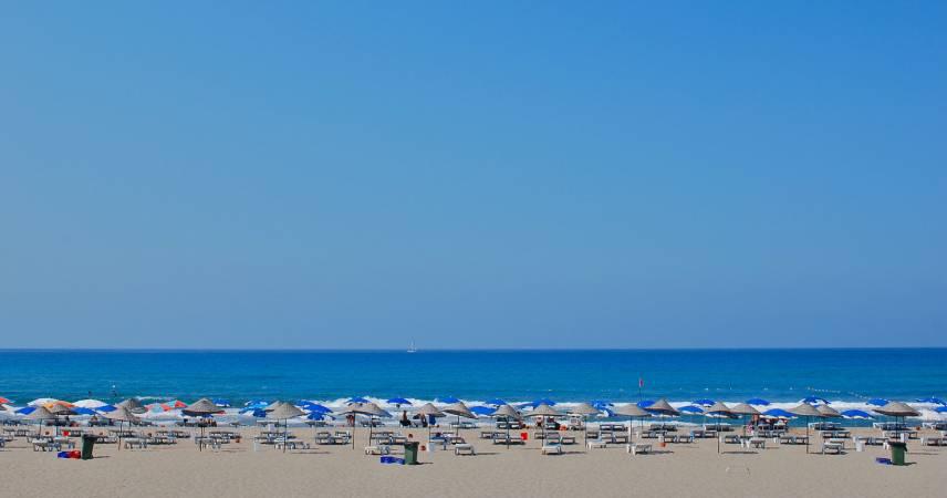 Playa Patara y ciudadad antigua