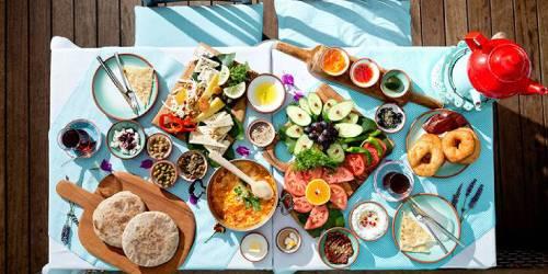 Desayuno en Turquia